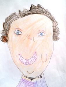 rysunek babci