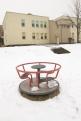 ogród zimą 2