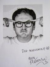 autograf Juror Artur Kurasiński