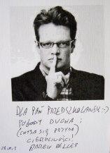 autograf Marcin Meller