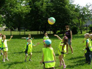 Zabawy z piłką