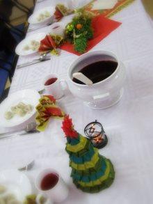 przy świątecznym stole