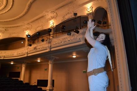 pani Magda w teatrze