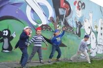 park rodzinny graffiti