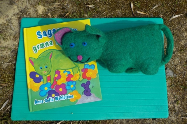 green cat book