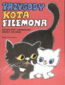 ksiązka o kocie filemonie poszukiwana